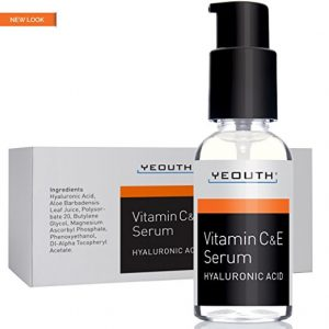 YEOUTH Vitamin C Serum For Day with Vitamin E and Hyaluronic Acid Serum