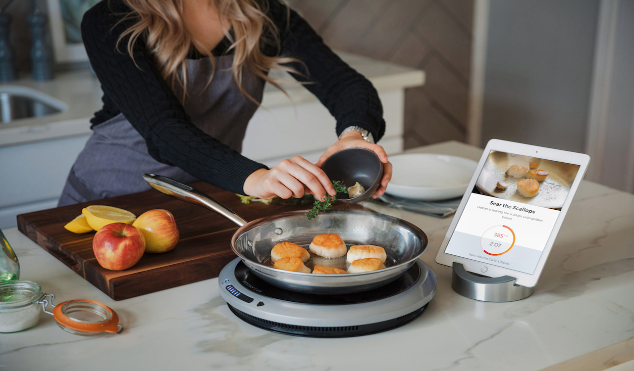 Smart Cooking System, cooking app, cooking recipe