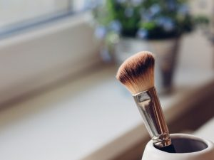 clean your foundation brush